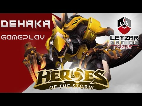 Heroes of the Storm (Gameplay) - Dehaka Tank Build (HotS Dehaka Gameplay Quick Match)