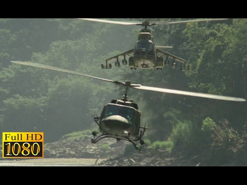 Rambo First Blood 2 (1985) - Helicopter Vs Helicopter Scene (1080p) FULL HD thumbnail