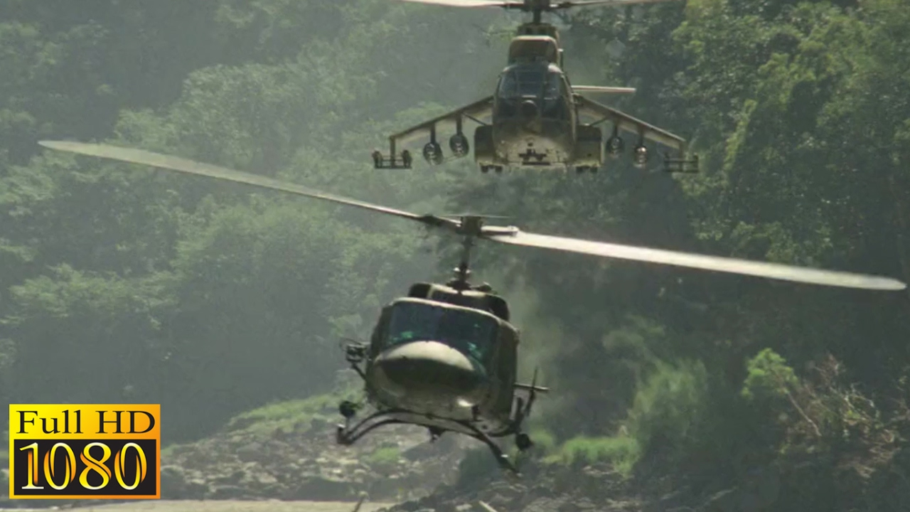 Rambo First Blood 2 (1985) - Helicopter Vs Helicopter ...