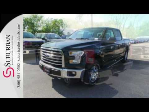 New 2016 Ford F 150 Sterling Heights, MI #FG6296. Suburban Ford Mazda ...