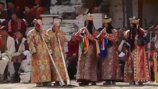 ТсеЧу празненство в Паро Дзонг