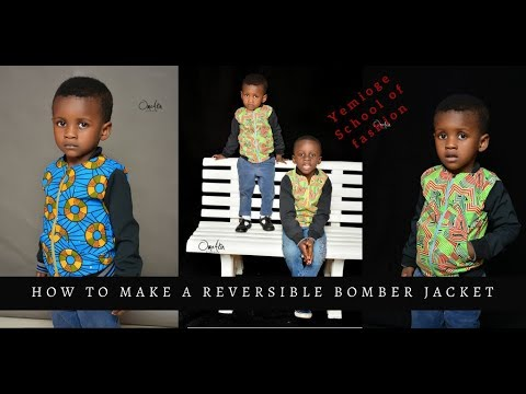 Download Reversible Bomber Jacket - Cutting and Sewing