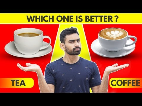 Tea Vs Coffee | Which Is Better (Revealed)