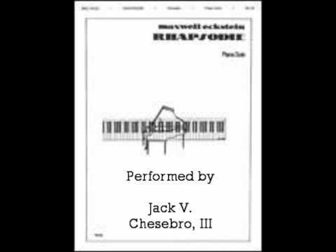 Rhapsodie (Maxwell Eckstein)