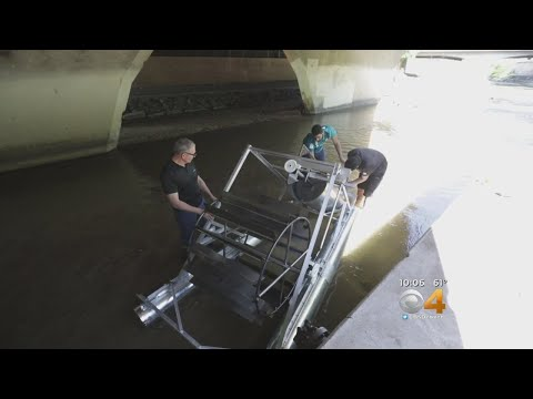 CU Engineering Students Create Trash-Cleaning Wheel