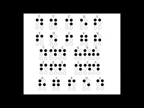Reading Braille Music