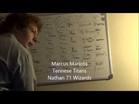 The Sports Cast Fantasy Draft