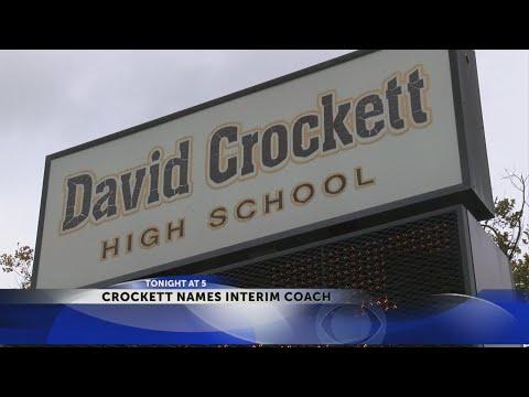 Davy Crockett names interim football coach... again