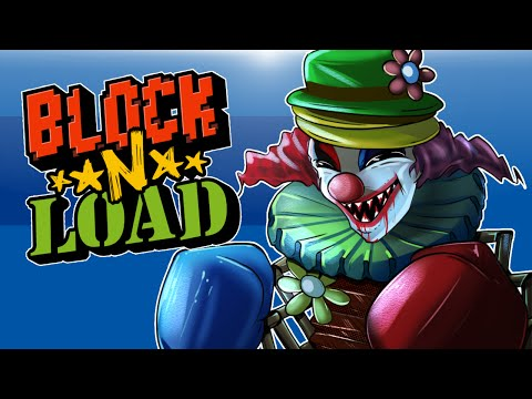 Block N Load - Learning the game! (Kreepy The Klown OP Traps!)