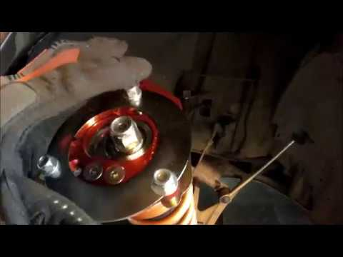 How To Install Vorshlag Camber Plates And Swift Springs On Ohlins Coilovers. BMW E46 M3 Content