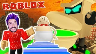 Roblox: BEFORE XXL KLO & FROM SCHOOL WITH CAPTAIN UNTERHOSE! Obby Stop Professor Poopypants