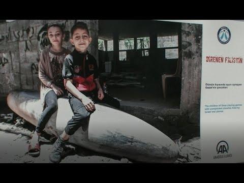 افتتاح معرض فلسطين في غازي عنتاب