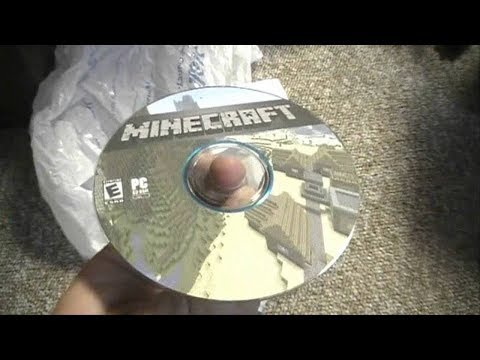 Running Minecraft PC From A Disk (DVD)