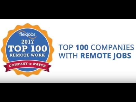 100 Top Companies with Remote Jobs in 2017   FlexJobs