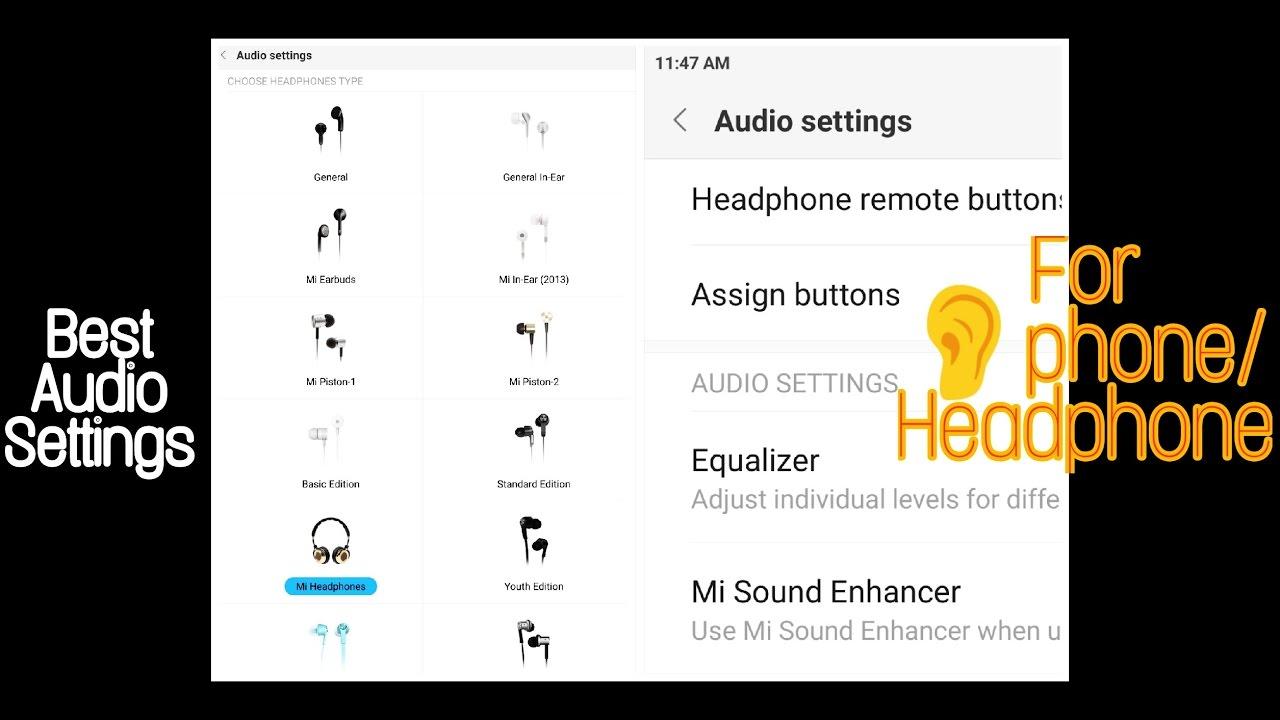 Mi Sound Enhancer 🎧 Best Sound Settings