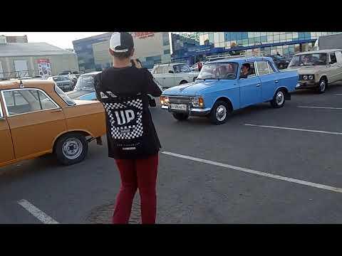 Встреча ретро автомобилей Ижевск
