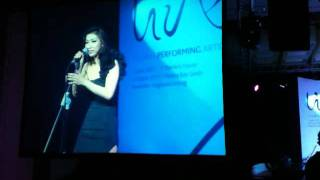 Over the Rainbow - Sojung Lee at LIVE! Singapore 2011