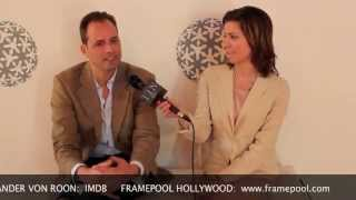 KATIE CHATS: ALEXANDER VON ROON, FILMMAKER/HOST/ACTOR, E! NEWS (NBC UNIVERSAL), CHUCK, TOUCH, 03/12