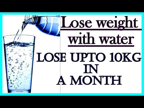 How to Drink Water for Weight Loss | Lose Weight 10 Kgs in 1 Month | Fat to Fab