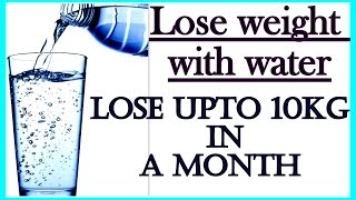 How to Drink Water for Weight Loss in Hindi | Lose Weight 10 Kgs in 1 Month | Fat to Fab