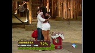 a fazenda  3  Andressa Soares é eliminada com 72% dos votos
