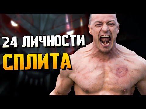 Все личности Сплита: МонстрОбзор фильма «СПЛИТ»