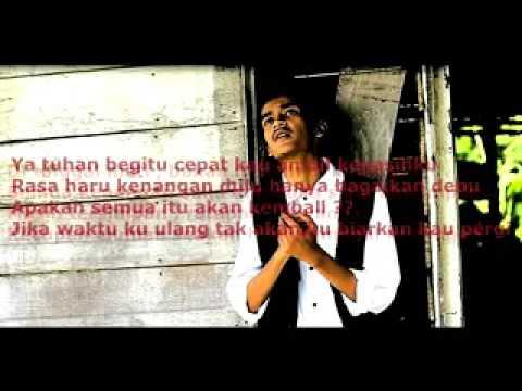 A H E R O Ft Putraabe 'Pergi Untuk Selamanya' Lyrics On Screen