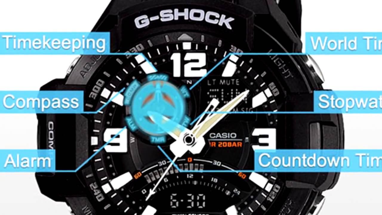 G-shock – это одна из самых ярких и востребованных коллекций от японской фирмы casio.