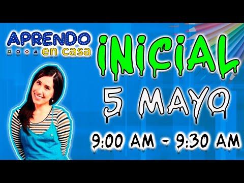 APRENDO EN CASA 5 DE MAYO INICIAL-TV PERU EN VIVO HOY MIERCOLES 2021 FULL HD 1080 60 fps
