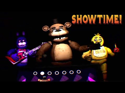 FNAF END WITH SHOWTIME - Five Nights At Freddy's VR: Help Wanted