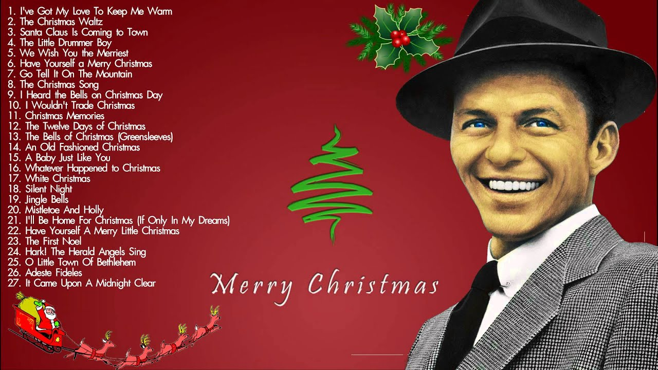Christmas Songs By Frank Sinatra    The Most Famous Frank Sinatra ...