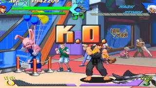 X-men vs. Street Fighter ~ Ryu and Cyclops   【TAS】