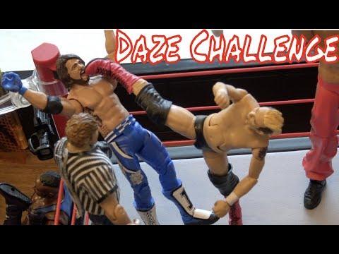 WWE Action figure Set Up - DAZE
