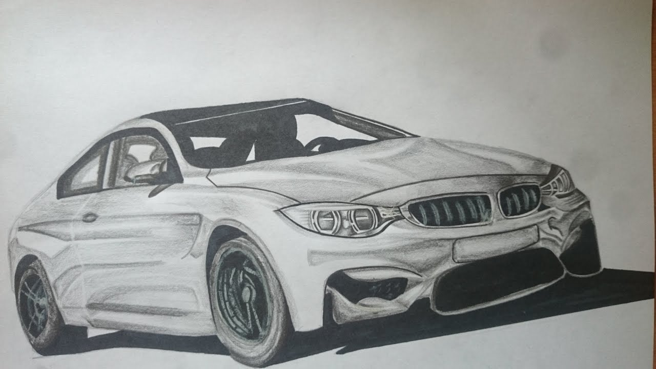 Legit Bmw M4 Drawing Tutorial Youtube