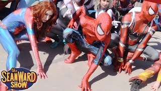 Spider-Man: SPIDER-VERSE Comic Con Invasion!!!