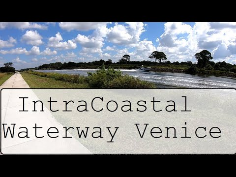 Florida vlog Intracoastal Waterway in Venice Southwest Florida Gopro with Ian