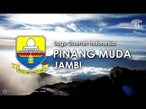 Pinang Muda - Lagu Daerah Jambi (Karaoke dengan Lirik)