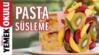 Pastacılık 3: Pasta Süsleme | Pasta Nasıl Kaplanır? | İlkay'ın Pasta-Hanesi