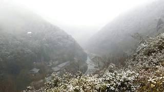京都(KYOTO) 冬の嵐山(Winter Arashiyama)-#8 亀山公園(Kameyama Park) 展望台2(Observatory2) thumbnail