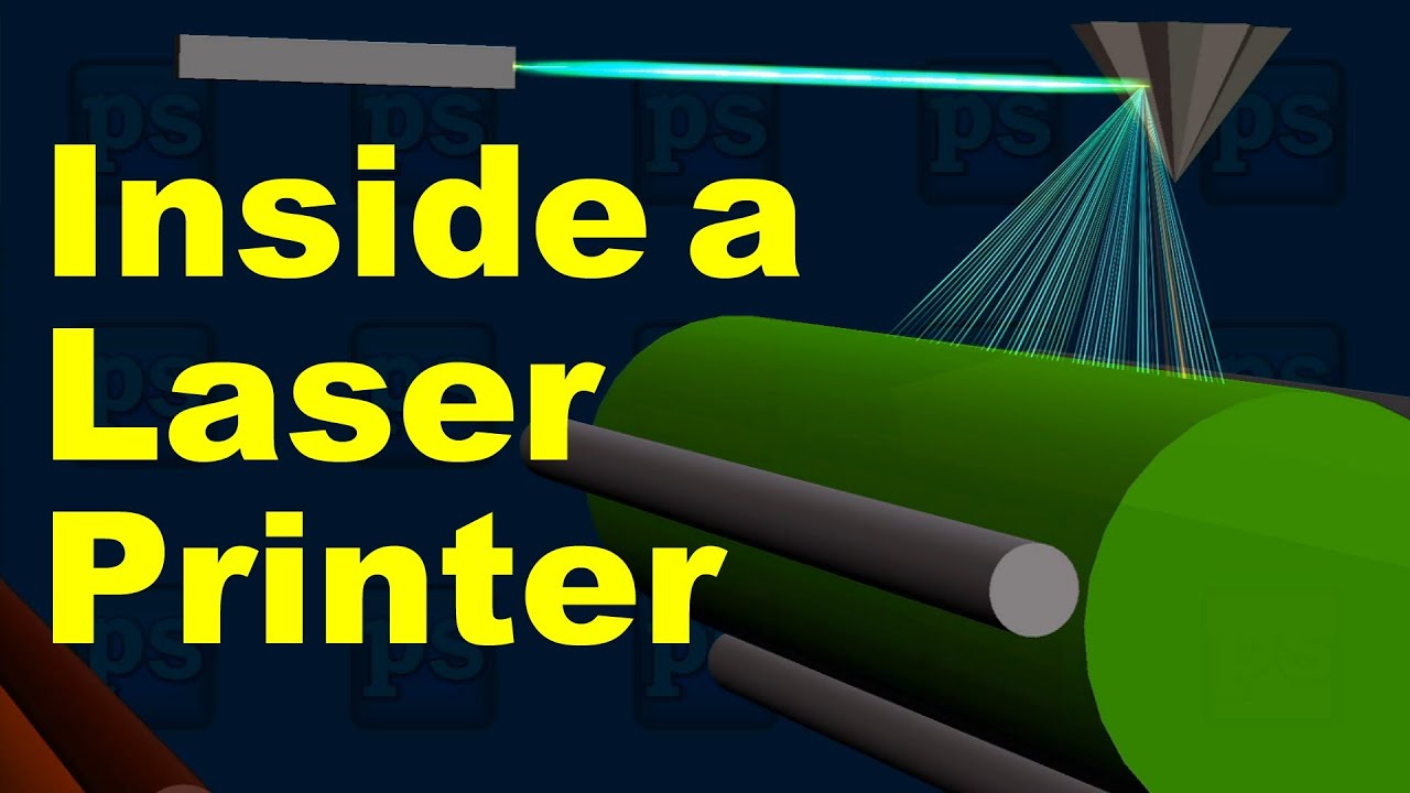 How Does a Laser Printer Engine Work? - YouTube
