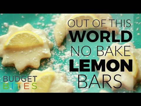 Budget Bites: Out of This World No-Bake Lemon Bars | Coupons.com