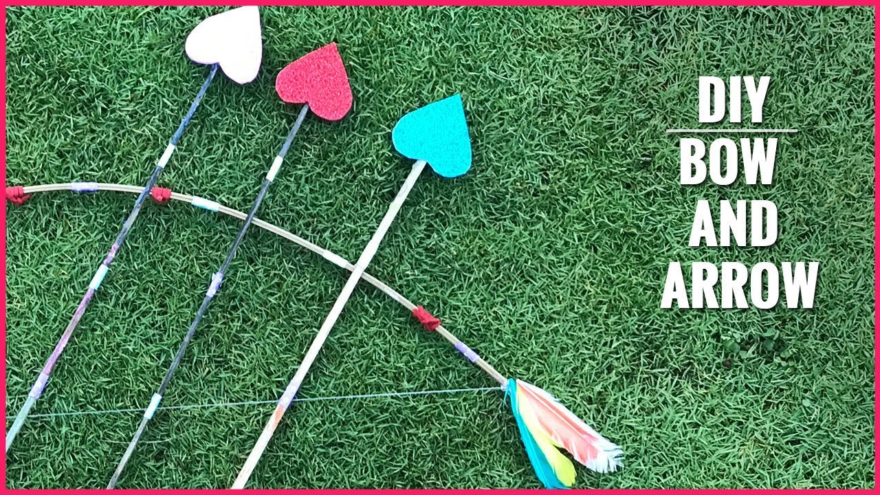 DIY | How to Make a Bow and Arrow
