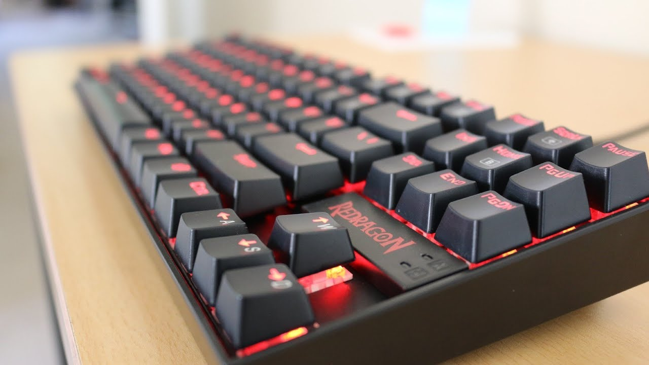 A 30 Mechanical Gaming Keyboard Redragon Kumara K552 Review Youtube
