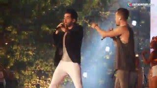 Mike Bahia  ft Alejandro Gonzalez  - Le hace falta un beso - en Vivo Premios India Catalina 2016