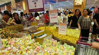 Mua sắm bánh kẹo mứt Tết 2020 thả ga với 3 triệu tại siêu thị AEON Mall Tân Phú lớn nhất Sài Gòn