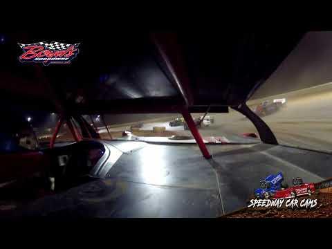 #711 Griffin Alexander - Sportsman - Heat - 2-2-20 Boyds Speedway Cabin Fever - In-Car Cam