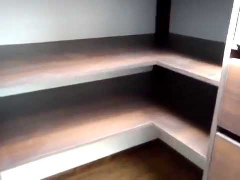 Walk in closet a medida ideas para organizar youtube for Closet a medida