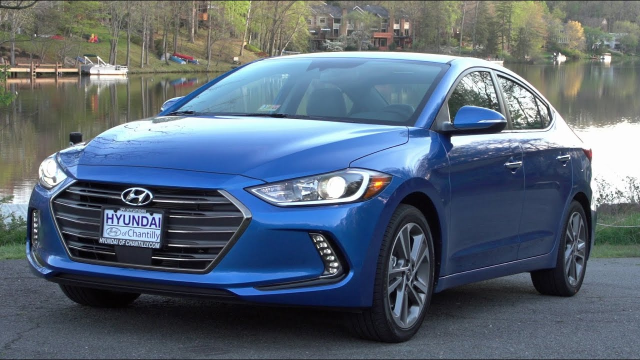 2017 hyundai elantra test drive review youtube. Black Bedroom Furniture Sets. Home Design Ideas