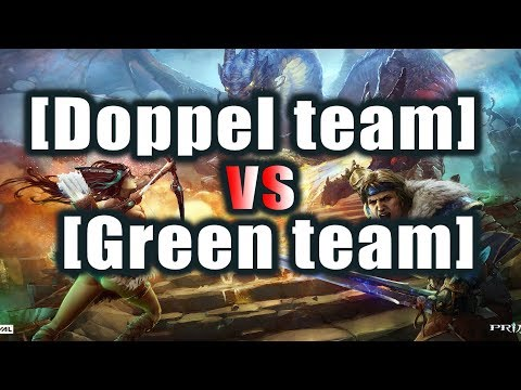видео: [doppel team] vs [green team] Битва фулок: новая мета prime world