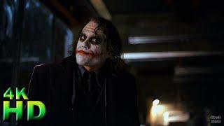 Джокер и Бэтмен. Финальная сцена. Часть 1. Взрывчатка на пароме. Спецназ. Тёмный рыцарь 2008 ► HD 4K